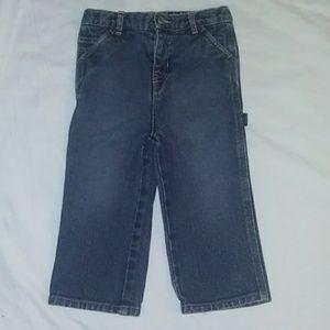 Nautica 18-24M snap fly carpenter jeans